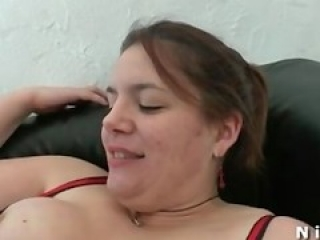 BBW french slut hard anal fucked and fisted in threeway