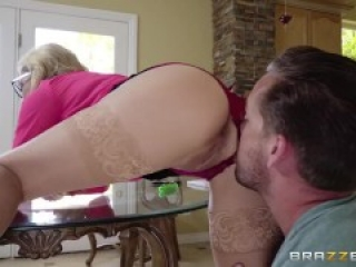 Busty Hot Milf Fucks Some Young Cock - Brazzers