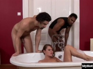 Zuzana Z is a hairy sweetheart who gets off on interracial threeway action