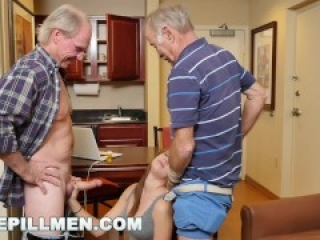BLUEPILLMEN - Introducing Old Man Duke to Teen Naomi Alice (bpm14870)