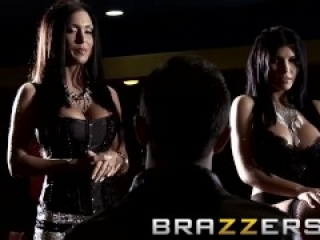Brazzers - Keiran Lee fucks both Jessica Jaymes & Rebeca Linares