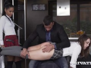 Apolonia and Zoe Doll Are Punished With a Threeway