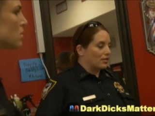 Black Robber Has To Fuck Cock Crazed Mature Cop Whores