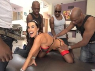 Lisa Ann Interracial Gangbang