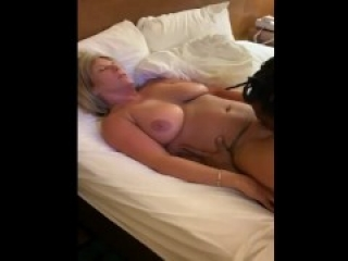 Cuckold hubby watches BBC fuck his hot BBW wife