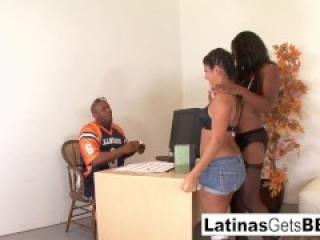 Rane brings in her friend Jasmine for an interracial threeway
