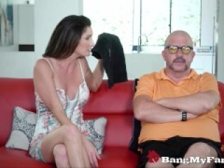 Sexy Stepmom Silvia Saige Catches Son Masturbating & Joins In