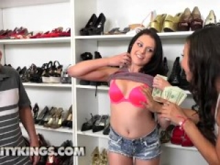 Reality Kings - Megan Sage and Adrian Maya share cock for cash