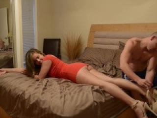 Katie Cummings - Im Sooo Drunk Little Brother Massage My Feet Please