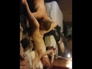 Petite Blonde loves hung boytoy and hubby loves to watch and record