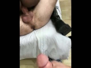 Guy Fucks Me While I Fuck Her
