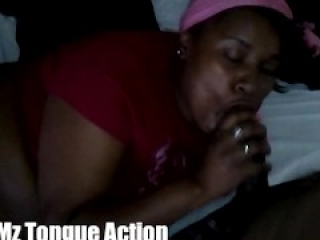 Mz Tongue Action Makes Hot Cum XXXplode on face!!!(Must See)