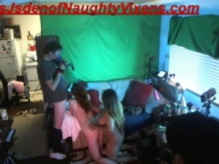 Threeway with me Autumn Gram&Stacy Sweet, blowjob fuck & swallow