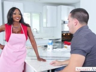 Black Step mom Diamond Jackson, hardcore fuck