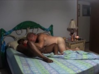 Hot Interracial Couple Pussy Play, Doggie, Screaming Orgams, Love Making