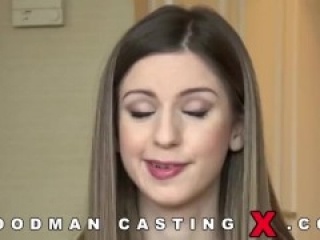 Italian babe Stella Cox gets anally abused by Pierre Woodman and his friend