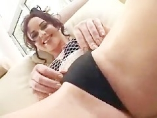 Gorgeous European Wants a Creampie in Both Her Ass & Pussy