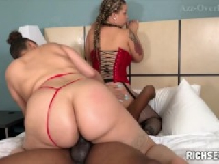 Simone Richards & Lexi Love Threeway Orgy