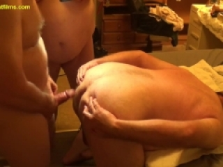2018-10-05 Master Fucks Two Anal Sluts at Same Time BBW BDSM Mmf Bondage Bi