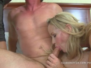 Shay Fox and Simone Sonay Big Tit Milf Threeway