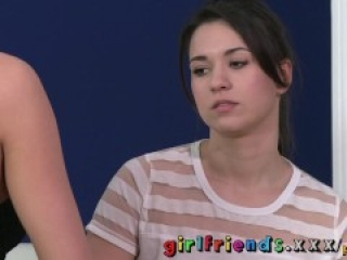 Girlfriends The most amazing big tits sucked by young lesbian